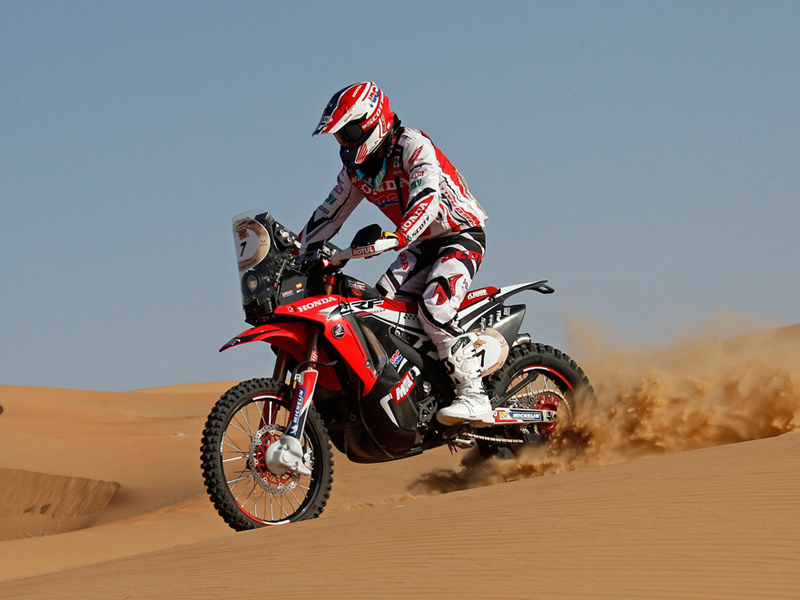 Jan Barreda se pone al frente del Sealine Cross-Country Rally 2014.