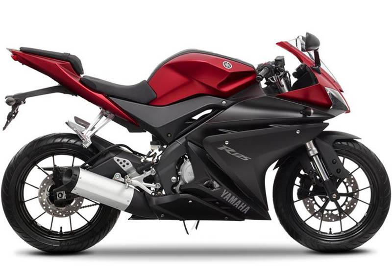 Yamaha YZF-R125 roja