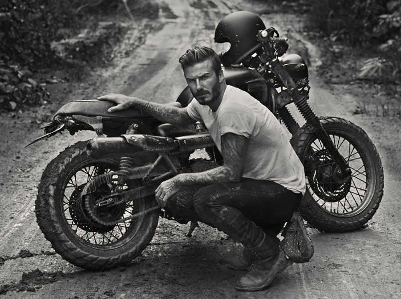 David Beckham realiza un documental para la BBC con Triumph