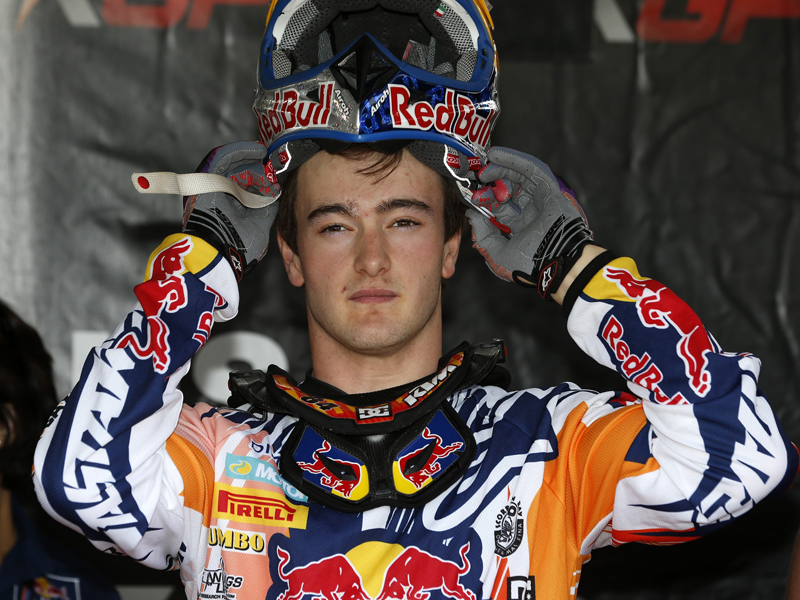 Jeffrey Herlings en el GP de Finlandia 2014