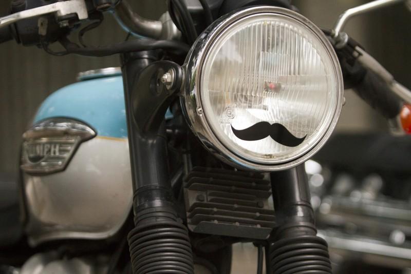 El símbolo del Distinguished Gentleman's Ride 2014 lució por todo el evento