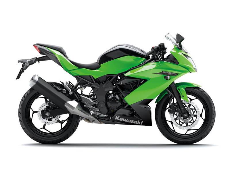 La nueva Kawasaki Ninja 250SL.