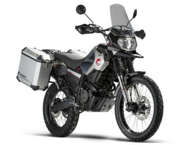 Mash Adventure 400, una trail ligera.