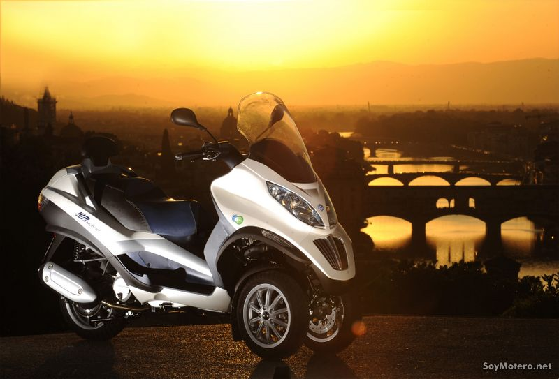 Piaggio mp3 Hybrid - Menos CO2