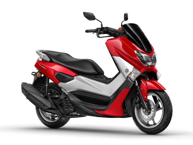 Scooter Yamaha NMAX rojo