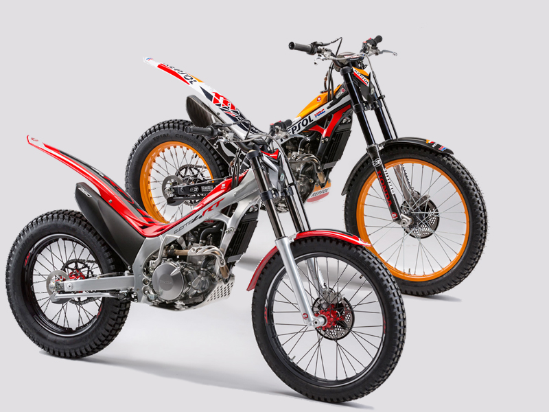 Montesa Cota 4RT y Race Replica 2016.