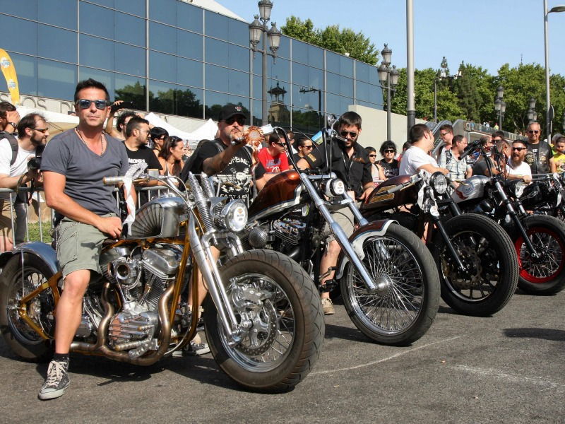 Motos ganadoras del Custom Bike Show 2015.
