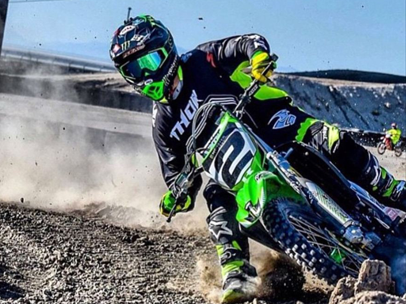 Jeremy McGrath sigue en forma.