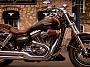 Harley Davidson CVO™ Fat Bob® 2010 - Cryptic Black con Hellfire Flames custom
