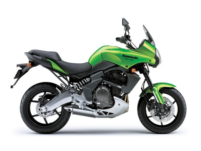 Kawasaki Versys verde 2008