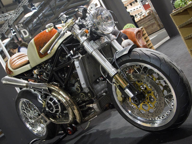Custom&Café EICMA 2015