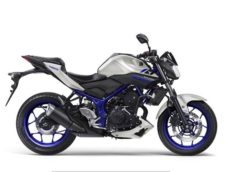 Yamaha MT-03 Azul