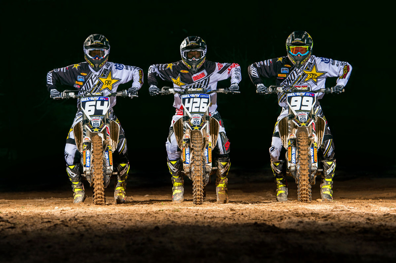 Rockstar Energy Husqvarna Factory Team MX2.