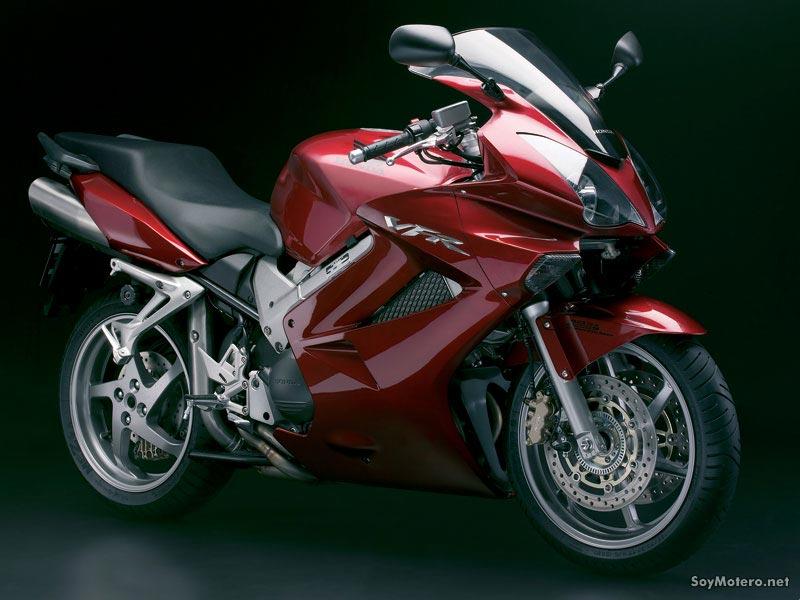 Honda VFR 800 ABS 2008 burdeos