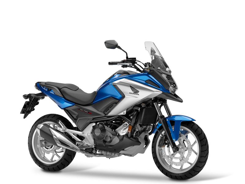 Honda NC750X 2016 azul