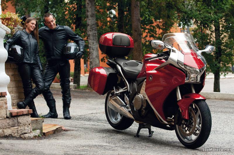 Nueva Honda VFR1200F 2010 - Disfruta de las salida en moto