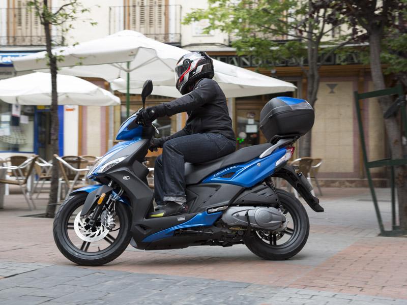 El Agility es el scooter más exitoso de Kymco