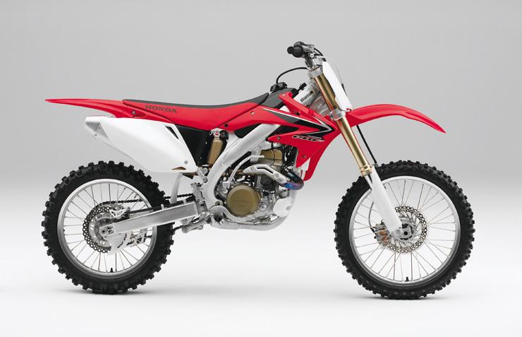 Honda CRF450R derecha