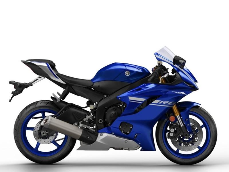 Yamaha YZF-R6 2017 lateral