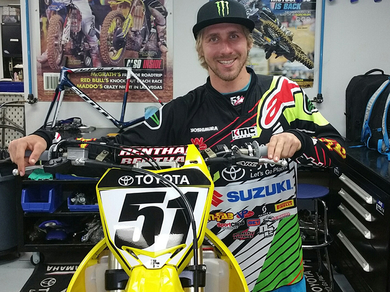 Justin Barcia, nuevo piloto JGR-Suzuki.
