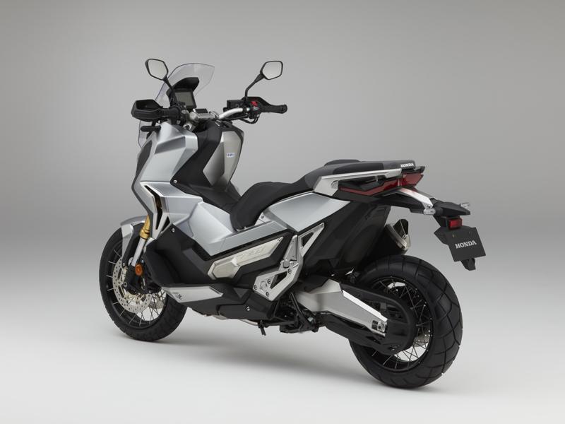 Honda XADV: visión 3/4 trasera