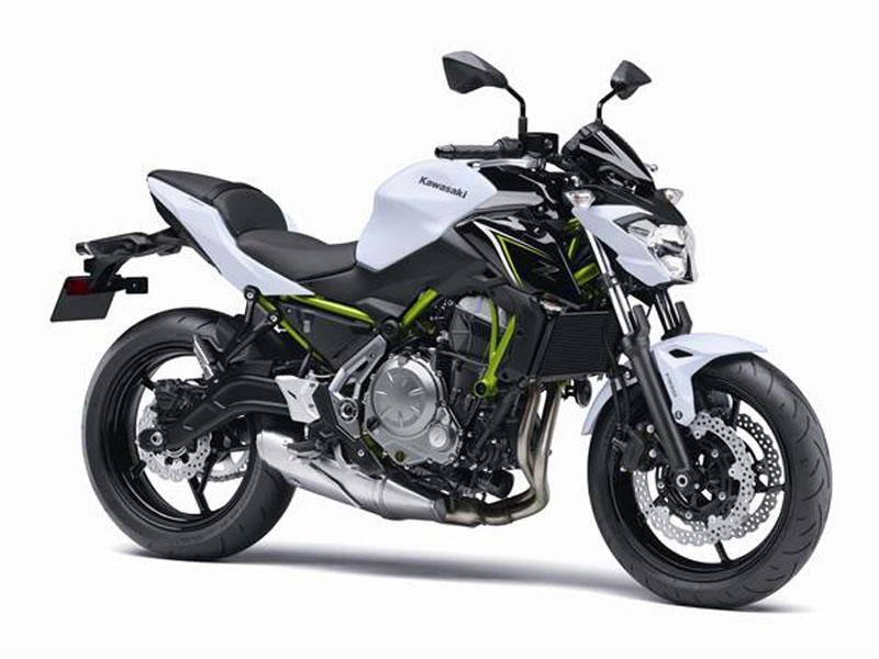 Kawasaki incorpora la Z650