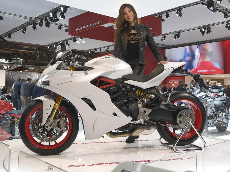 Escucha como suena la Ducati Supersport 2017