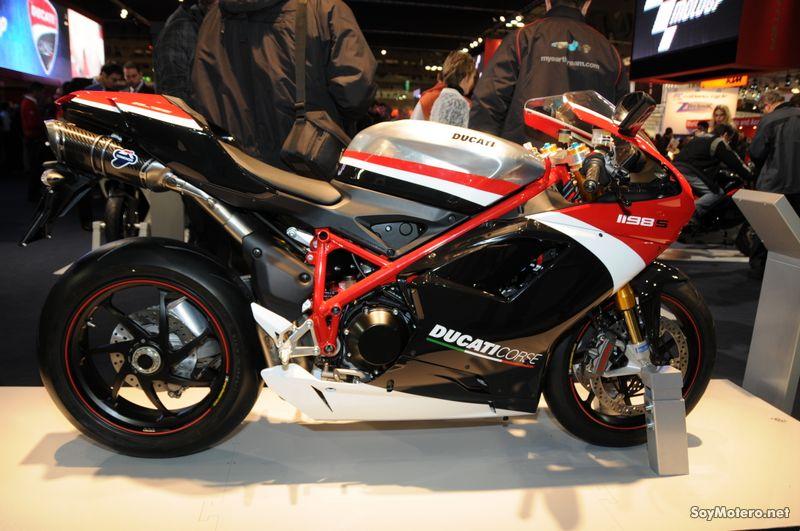 Ducati Corse 1198 S 2010 - La nueva evolución de Ducati