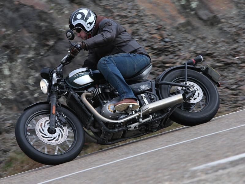 La Triumph Bonneville Bobber arranca en 12.900 €