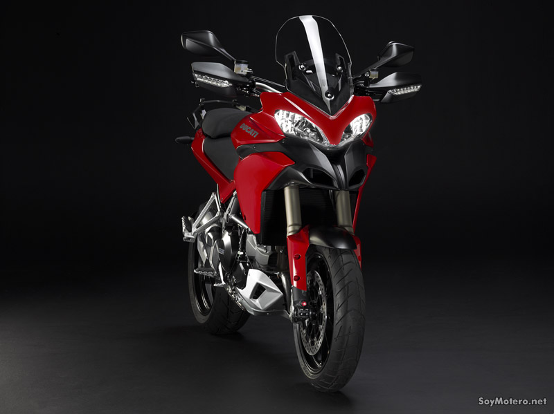 Ducati Multistrada 1200 - ABS color rojo