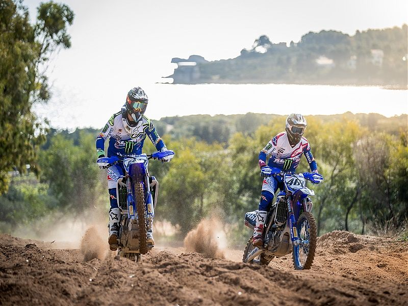 Pilotos del Monster Energy Yamaha Factory MXGP Team