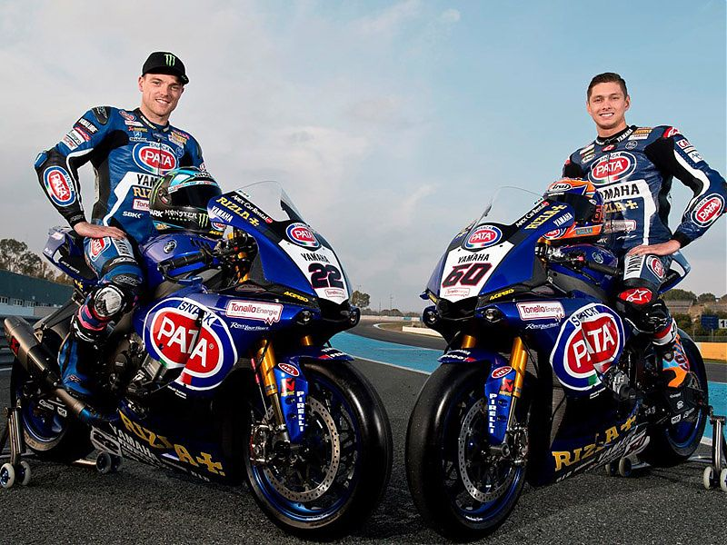 Alex Lowes y Michael van der Mark, pilotos oficiales Yamaha SBK 2017
