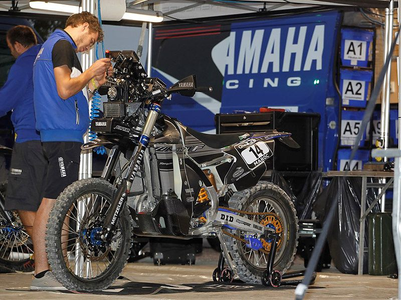 Yamaha WR450F Official Rally Team