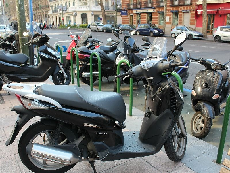 El parque móvil de las motocicletas españolas es uno de los más antiguos de toda Europa