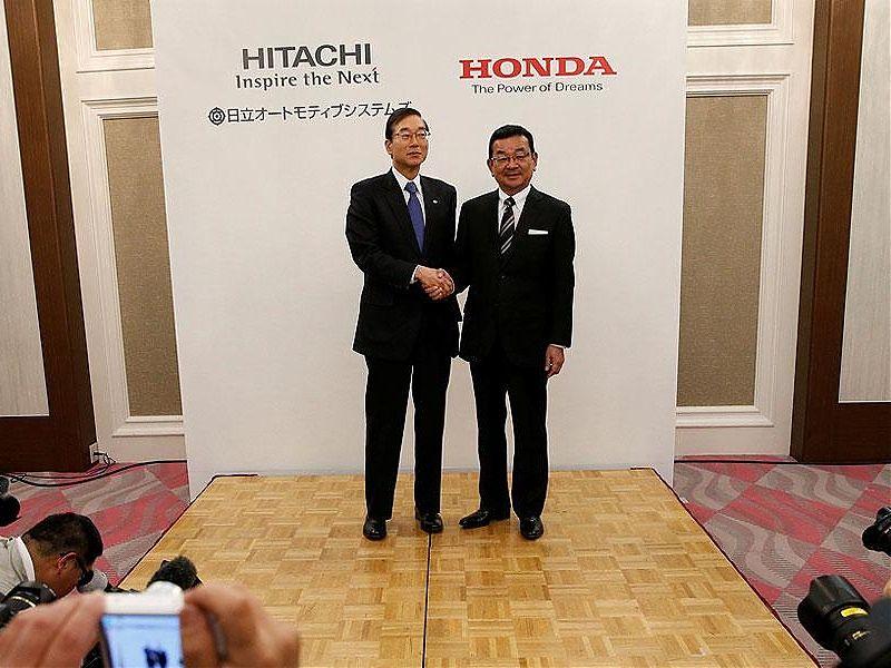 Cierre del acuerdo Hitachi - Honda