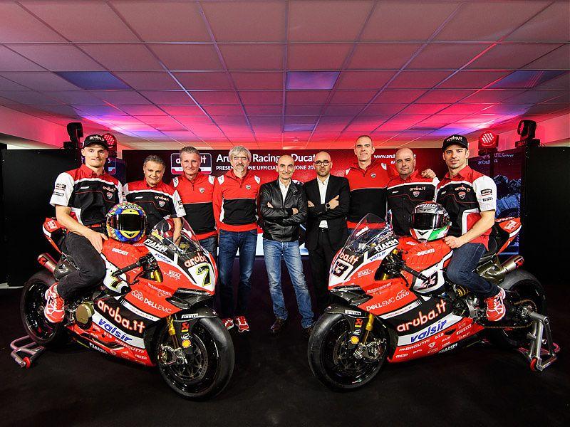 El equipo Ducati SBK 2017 aspira a todo