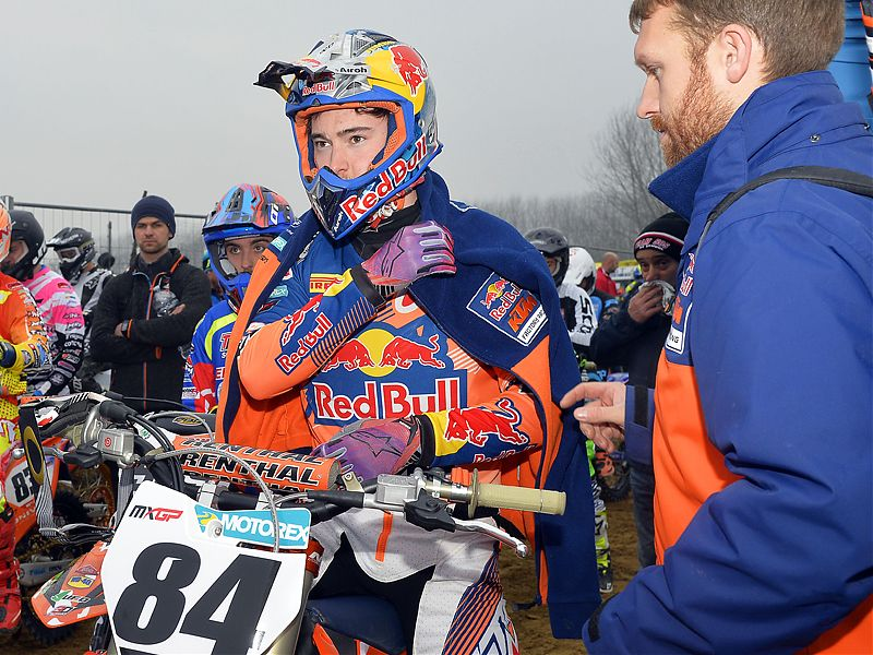 Jeffrey Herlings, en Ottobiano.
