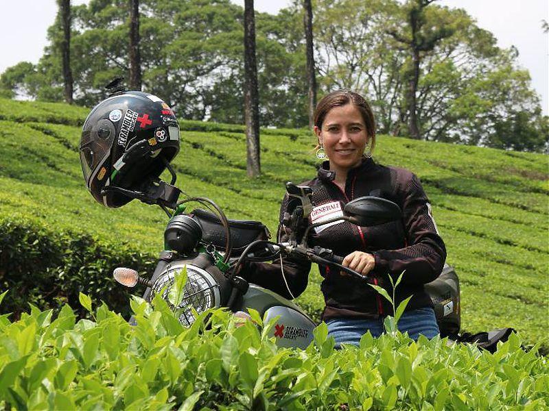 Alicia Sornosa y los mecenas que le apoyaron en su último viaje plantarán sus arboles el 28 de febrero