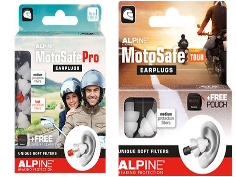 Alpine Motosafe Pro y Motosafe Tour