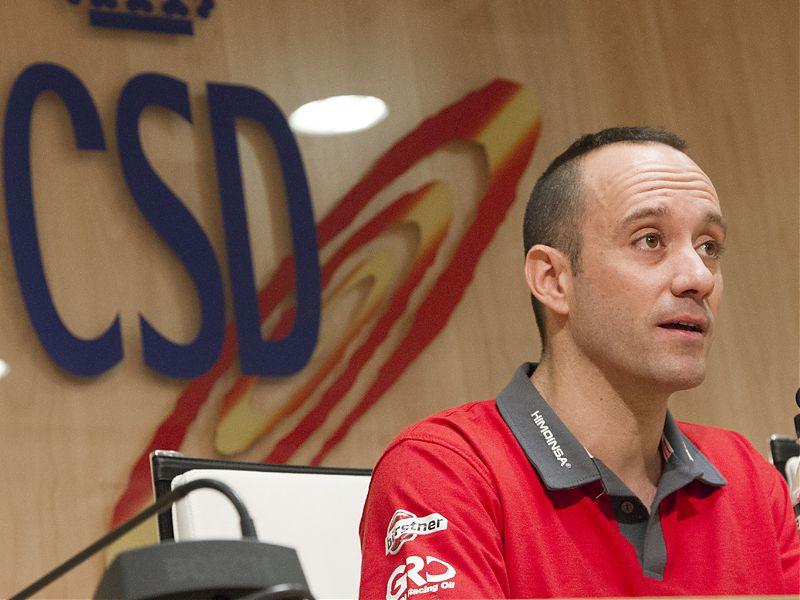 Gerard Farrés, en el Consejo Superior de Deportes.