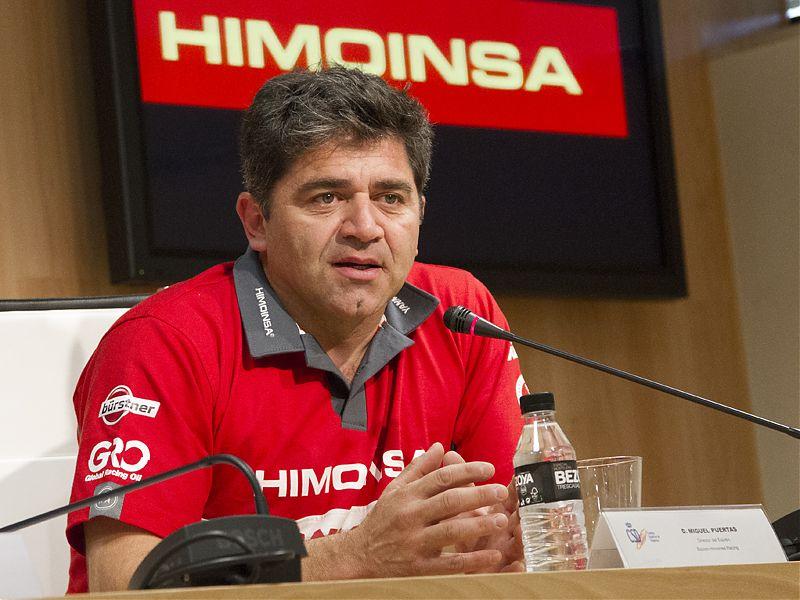Miguel Puertas, en el Consejo Superior de Deportes.
