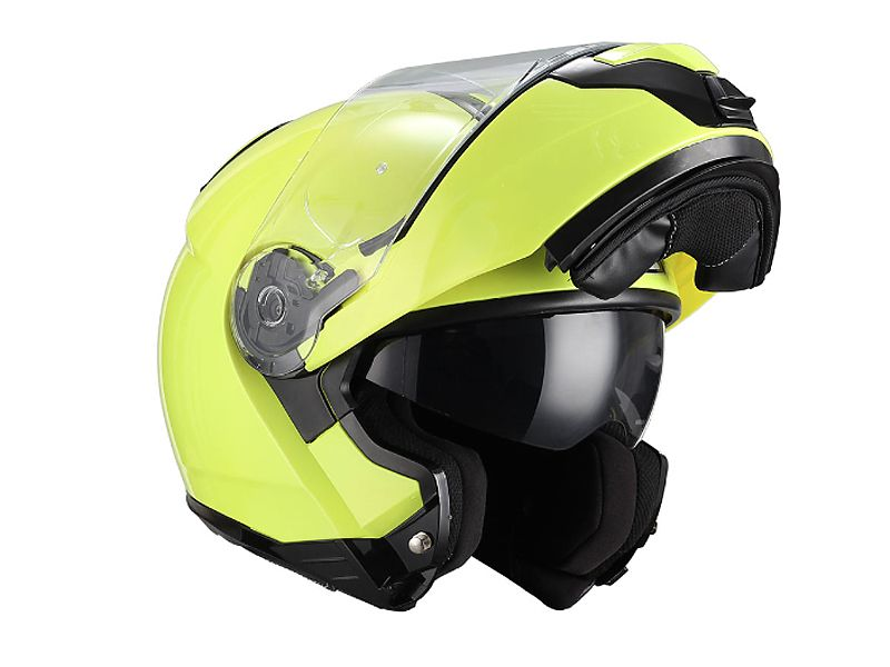 Nuevo casco NZI abatible