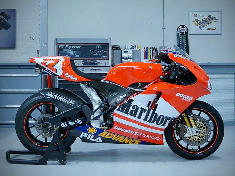 Cuatro Ducati y una Suzuki dignas de museo