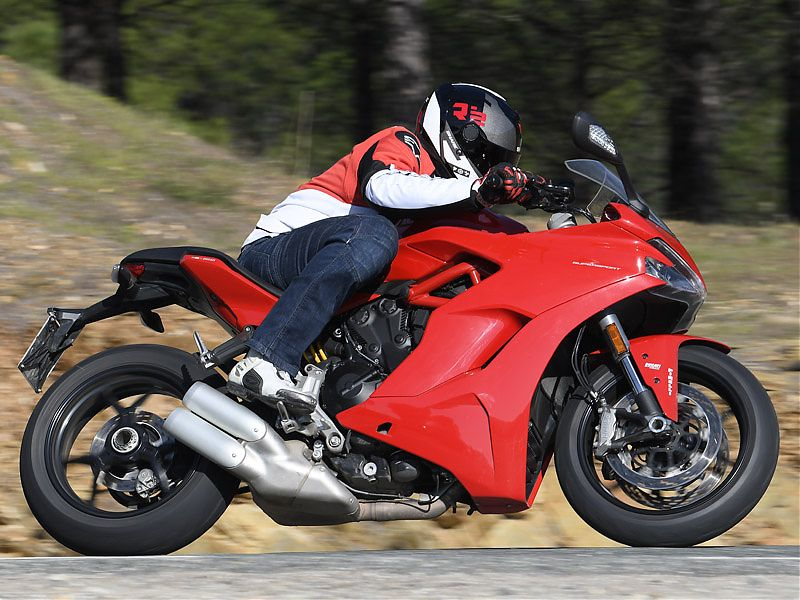 Espíritu deportivo sin extremismos en la Ducati Supersport