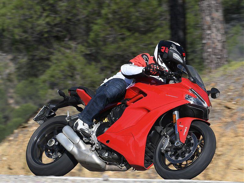 La Ducati Supersport 2017 es válida para todo tipo de escapadas