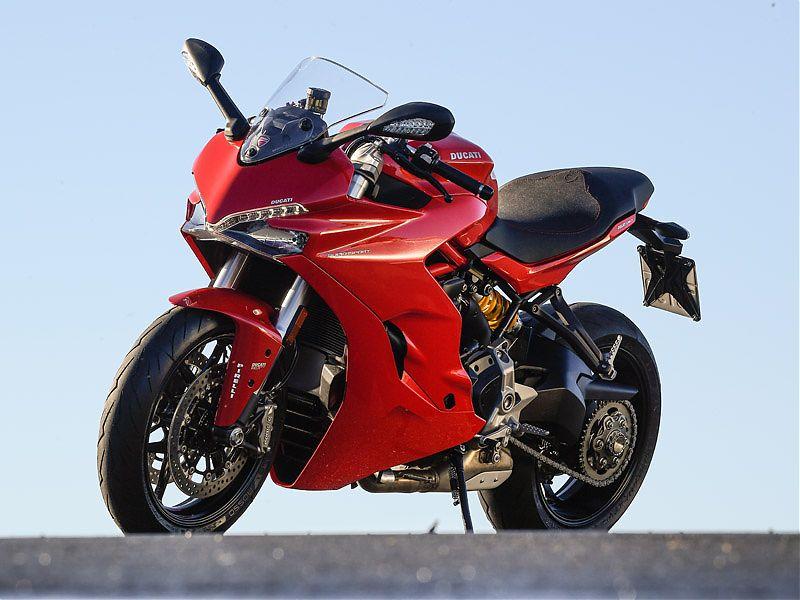 El frontal de la Ducati Supersport recuerda al de la 959 Panigale