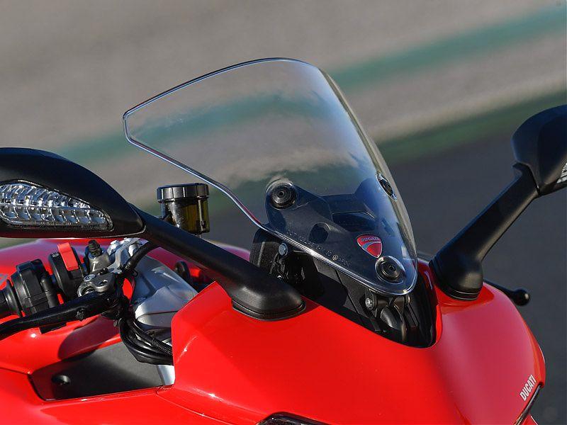 Cúpula regulable en dos alturas para la Ducati Supersport