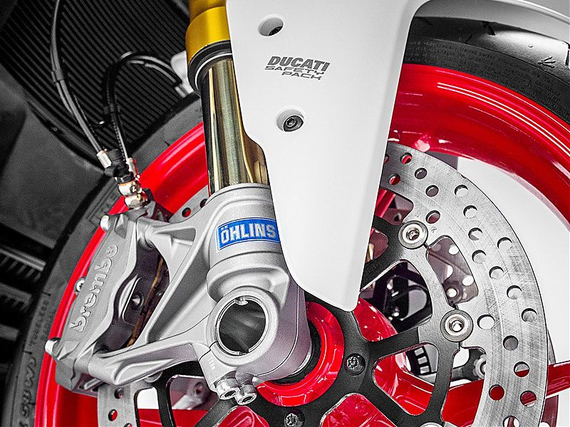 Horquilla Öhlins de 48 mm para la Ducati Supersport S 2017