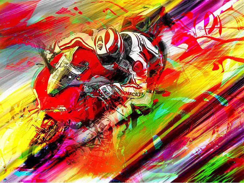 Ducati y BeArty han firmado un acuerdo para la comercialización de las obras de la colección Ducati Art