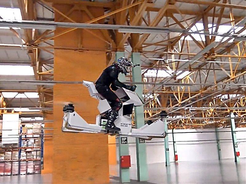 Scorpion-3, moto dron voladora